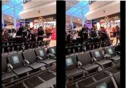 17 români arestați pe aeroportul Luton din Londra după ce s-au bătut zdravăn între ei. Trei răniți au ajuns la spital