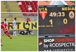 Grație victoriei cu Gaz Metan Mediaș: 1-0, UTA joacă și în sezonul viitor în LIGA 1