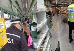 Amenzi de 6.000 de lei aplicate de polițiști pentru nerespectarea măsurilor impuse de starea de alertă