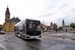 Primul autobuz electric produs în România va intra pentru 30 de zile în testare pe străzile din Oradea