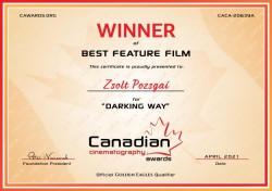 """Succes internațional în film pentru Arad. """"Golgota maghiară"""", filmată în colaborare cu Compania de Teatru Aradi Kamaraszínház, a câștigat premiul pentru cel mai bun film"""