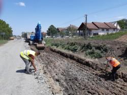 Drumul Arad- Horia-Șiria se asfaltează. Iustin Cionca: Am ajuns la un acord cu constructorul drumului Arad-Șiria, nu mai e nicio piedică pentru asfaltare