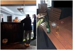 """Chef nocturn""""spart"""" de Poliția Locală pe Strandul Neptun. Petrecăreții au fugit la sosirea polițiștilor"""