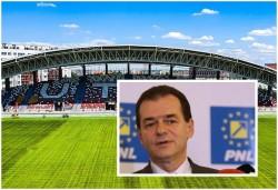 """Ludovic Orban, președinte al PNL, așteptat la Arad la primul meci cu spectatori pe Arena """"Francisc Neuman"""""""