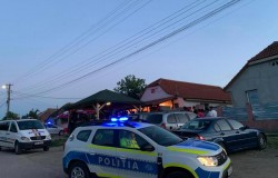 Petrecere în aer liber la Felnac întreruptă de polițiști. Cheflii au primit amenzi de 8.000 de lei