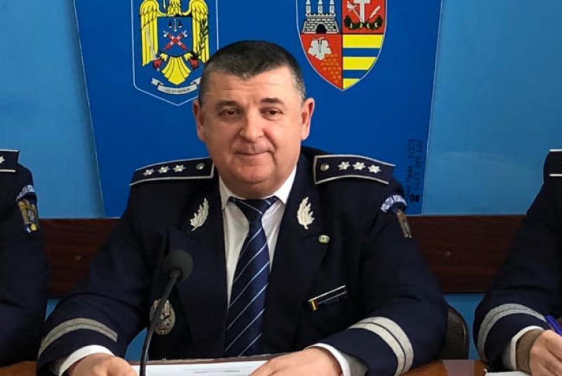 Comisarul șef Ioan Tamaș revine la conducerea IPJ Arad. Tamaș a mai fost șeful Poliției arădene în perioada 2014- 2020