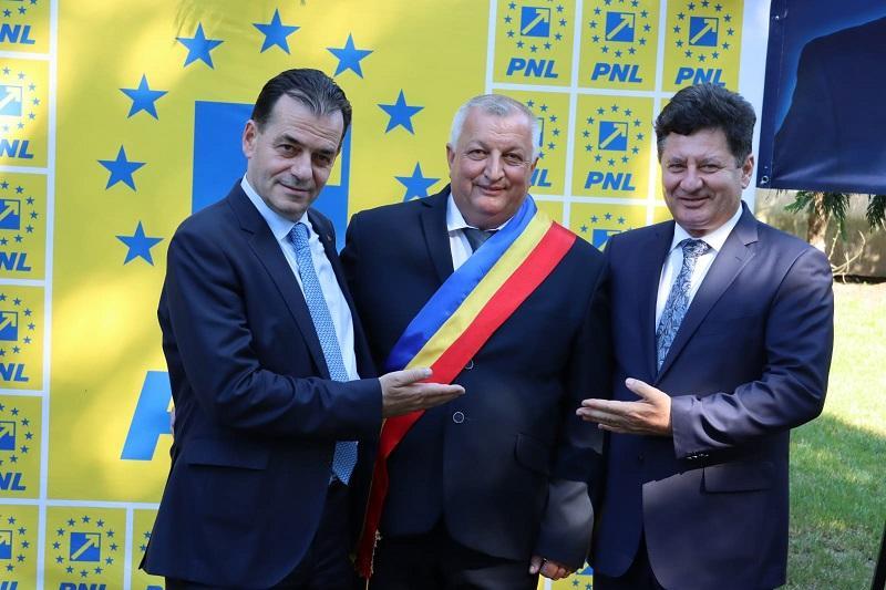 Ludovic Orban, susținere pentru Dănuț Codreanu, candidatul PNL la primăria Zăbrani