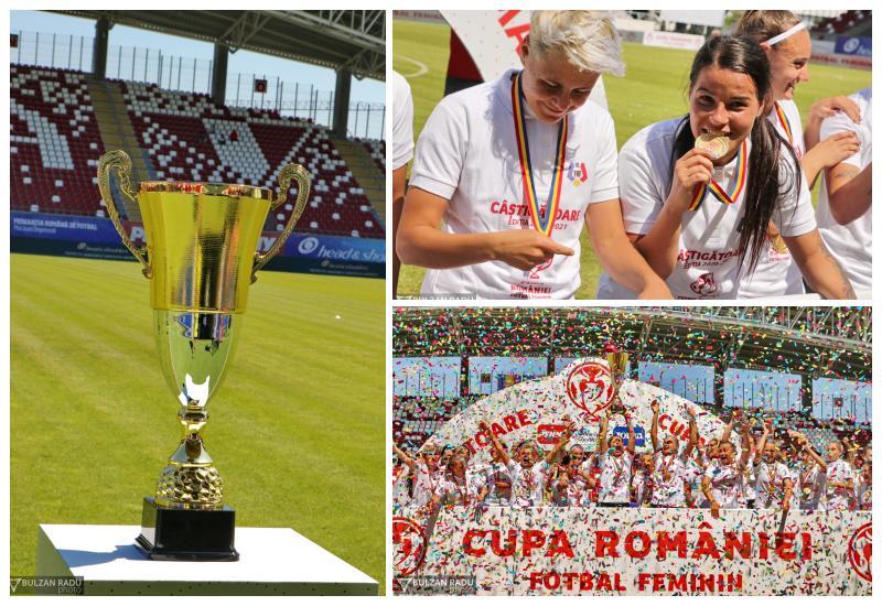 Ciolacu a adus a șaptea Cupă a României la Cluj. Finala s-a disputat cu spectatori pe stadionul Francisc Neuman din Arad
