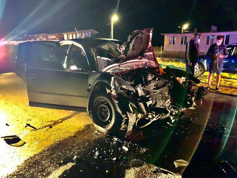 5 victime în urma unui accident luni noaptea în Sântana
