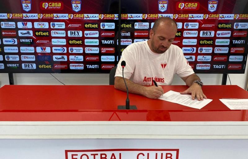Attila Brosovszki este noul manager general al clubului UTA