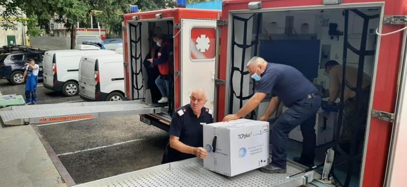 Astăzi, 11 iunie, 100.800 doze de vaccin AstraZeneca au plecat către Republica Moldova