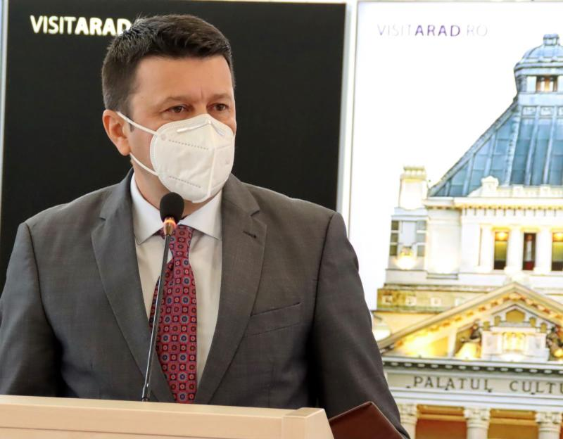 """Ionel Bulbuc: """"Arădenii sunt invitaţi să participe la Noaptea Muzeelor"""""""