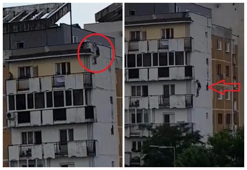 A murit după ce s-a aruncat de pe acoperișul blocului. Arădeanul avea doar 32 de ani