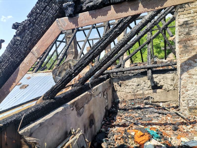 Patru incendii în week-end, dintre care două la case de locuit din Covăsânț și Secaci
