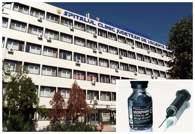 Anchetă la Spitalul Județean Arad. Consum uriaș de morfină pentru pacienții decedați de Covid