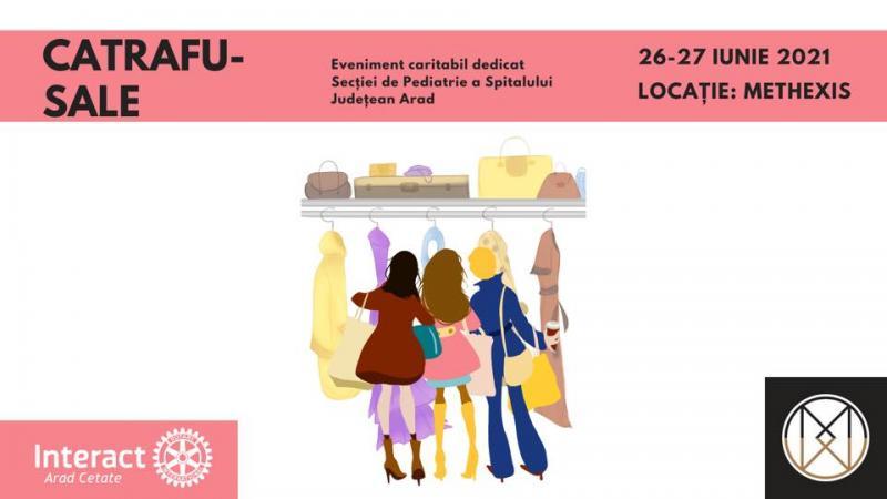 Catrafu-SALE.Inedit târg de cumpărături organizat de Interact Arad-Cetate