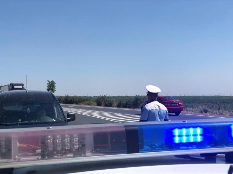 Acțiune în forță a polițiștilor rutieri. Amenzi de 57.500 de lei într-o singură zi