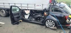 Accident mortal pe autostradă între Arad și Nădlac