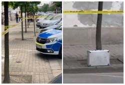 Valiză suspectă abandonată în fața Palatului Copiilor. O echipă pirotehnică și specialiști da la SRI la fața locului