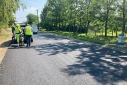 """Iustin Cionca: """"La început de iulie așternem al doilea strat de asfalt pe drumul Curtici-Macea-Sânmartin!"""""""