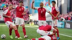 Clipe de groază la EURO 2021. Christian Eriksen a fost resuscitat minute în șir. Meciul Danemarca- Finlanda a fost suspendat