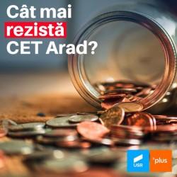 CET Arad, mai aproape cu 40 de milioane de faliment