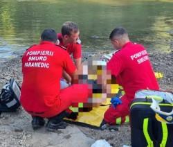 Tânărul din Secusigiu înnecat în Crișul Alb a fost găsit de scafandri în dreptul localității Revetiș