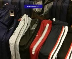 38.000 de articole de îmbrăcăminte și încălțăminte false în valoare de 120.000 de euro, descoperite de vameșii arădeni
