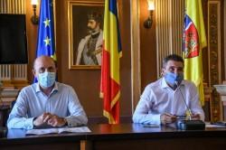 """Primarul Călin Bibarț: """"Economia rezultată în urma reorganizării va fi folosită pentru dezvoltarea orașului"""""""