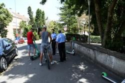 """Primarul Călin Bibarț: """"Doar copiii care au împlinit 14 ani pot folosi trotinetele electrice"""""""