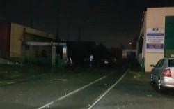 Un acoperiș prăbușit pe liniile de curent a lăsat depoul de tramvaie fără energie electrică. La noapte tramvaiele vor fi garate pe linii în oraș