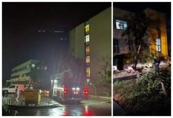 Deși a zburat o parte din acoperișul Maternului, viețile pacienților nu au fost în pericol