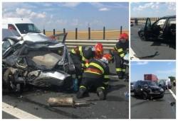 Accident mortal pe A1 între Deva si Nădlac. A fost nevoie de elicopterul SMURD