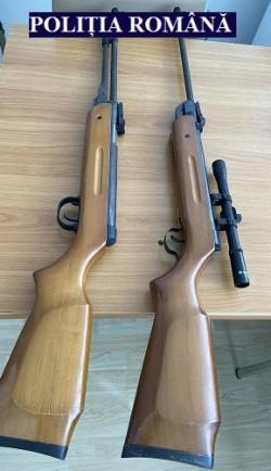 Arme ascunse provenite din contrabandă depistate la Lipova și Nădlac
