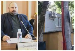 """Pe principiul """"Hoțul strigă hoții"""" consilierul municipal PSD, Cosmin Buruc, își trage construcție ilegală pe ștrand"""