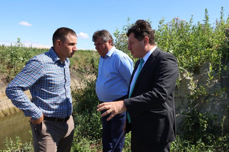 Iustin Cionca i-a cerut ministrului Agriculturii mai multe atribuțiuni la Consiliul Județean pentru a putea ajuta efectiv agricultorii din județ