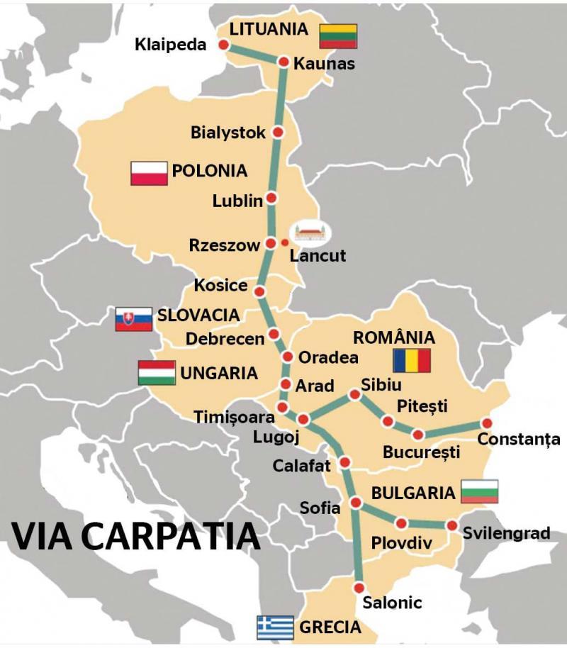 Drumul expres Arad-Oradea, parte a proiectului Via Carpatia