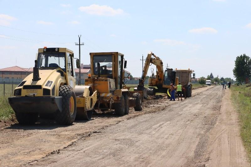 Proiectul de modernizare a drumului Zerind- Vărșand a ajuns la stadiul de elaborare a documentației de avizare a lucrărilor de investiții