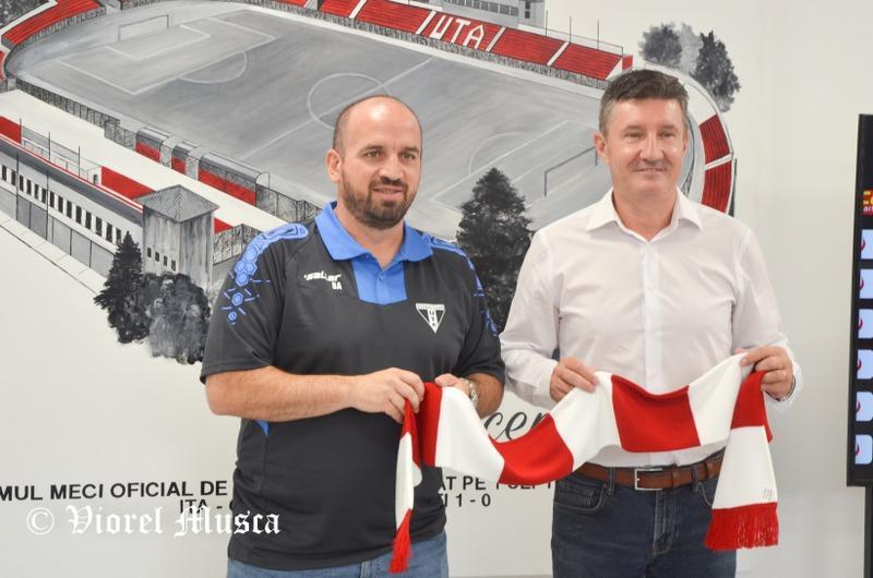 Lanțul de supermarketuri CBA Nord Vest va sponsoriza din acest sezon clubul UTA