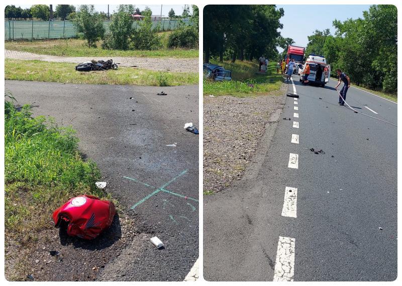 Un motociclist din Timișoara și-a pierdut viața pe drumul dintre Arad și Oradea