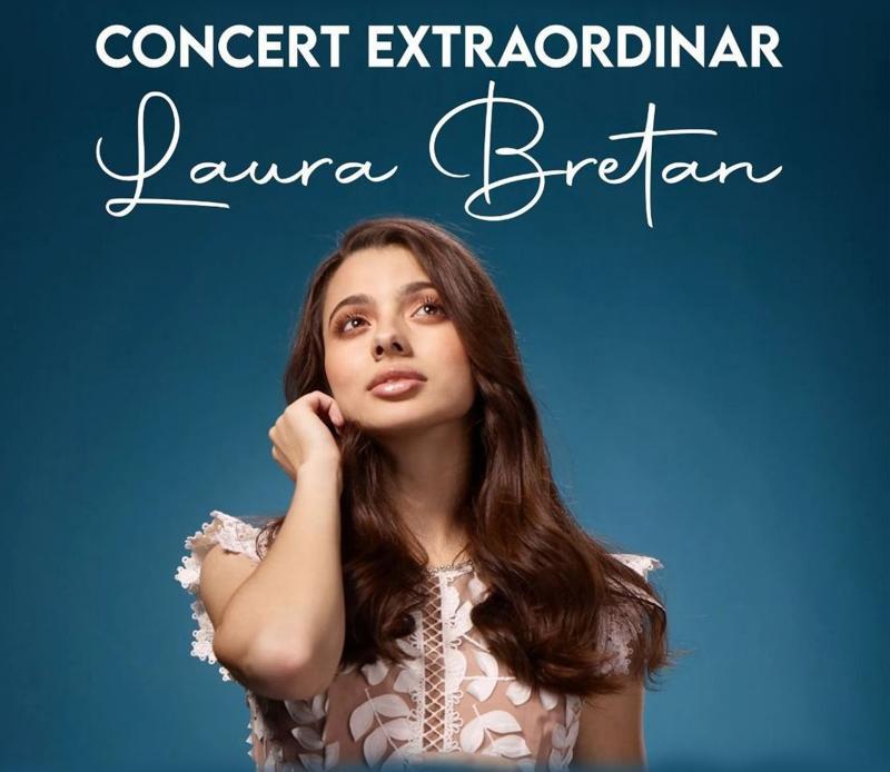 Concert extraordinar Laura Bretan, la Arad
