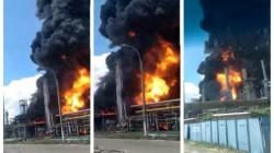 Explozie puternică la Rafinăria Petromidia. Un bărbat a murit iar mai multe persoane sunt rănite