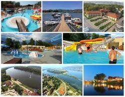 """La doar 170 de kilometri de Arad, destinație de vis pentru turiști. """"Litoralul Serbiei"""" de la Veliko Gradiste și-a redeschis porțile"""