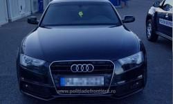 Audi 5 căutat de autoritățile din Germania descoperit în Vama Nădlac II