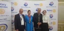 Rotirea colanului la clubul Rotary Arad Cetate
