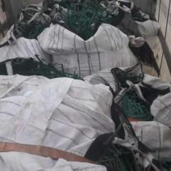 Polițiștii de frontieră arădeni și bihoreni au oprit peste 22 tone de deșeuri din aluminiu și combine frigorifice uzate la Vărșand și Borș