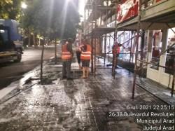 Salubrizarea stradală extinsă la nivelul arterelor mari din municipiu. S-a încheiat salubrizarea stradală a Bulevardului Revoluției