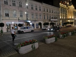 O nouă razie a polițiștilor în centrul Aradului pentru verificarea stării tehnice a autovehiculelor