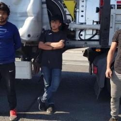 Invazie de afgani la granița româno- maghiară. Ascunși într-un automarfar, alți trei cetățeni afgani au încercat să treacă ilegal frontiera în Ungaria
