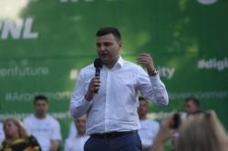 Sergiu Bîlcea, un nou mandat în fruntea organizației municipale a PNL Arad
